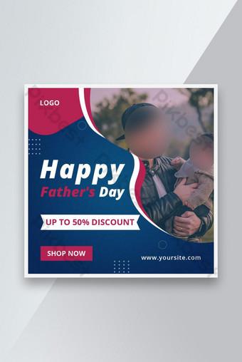 Selamat Hari A Pastor S Hari Khusus Banner Instagram Post Template Templat PSD