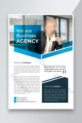 Business Flyer Poster Template Desain Ukuran A4 Templat EPS