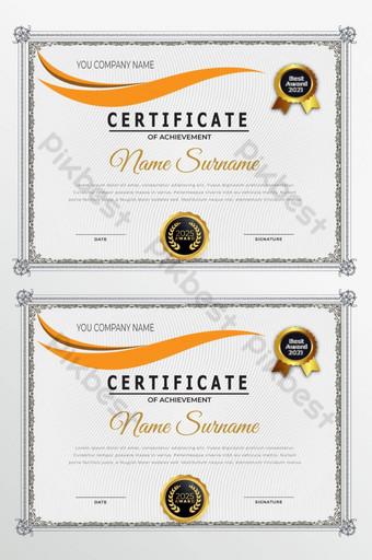 certyfikat Szablon AI