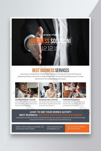 Templat Bisnis Pemasaran Terbaik Templat PSD