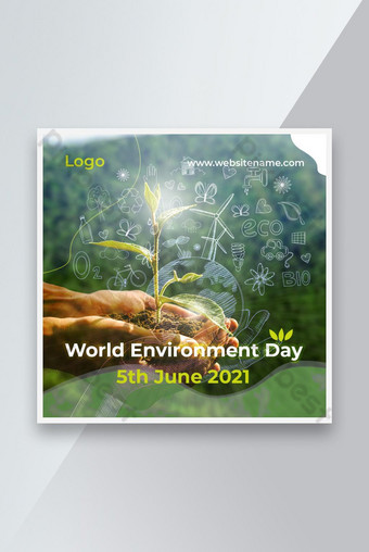 World's Environment Day Social Media Banner Template PSD