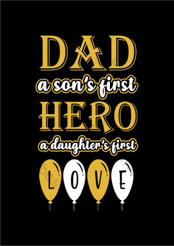 Fathers Day slogan, lettering for greeting cards, banners, t-shirt design. PNG Images Template AI