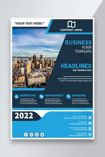 Konferensi Bisnis Business Flyer Template Business Brochure Templat AI