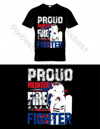 Templat Desain Shirt T Shirt Templat EPS