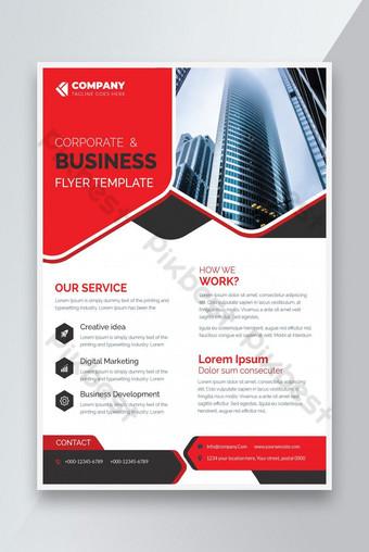 Conception de vecteur de modèles de flyer d'entreprise pour la proposition de catalogue de magazines d'affiches Modèle PSD