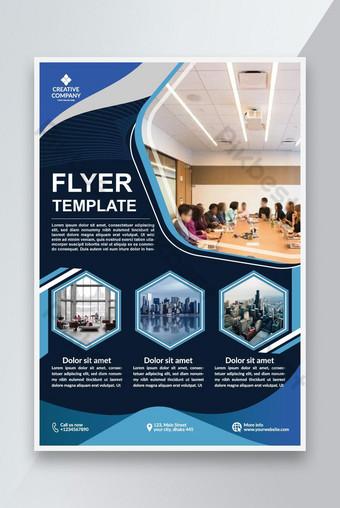 Tableau de flyer moderne Design Fichier Vector Télécharger pour imprimer Modèle EPS