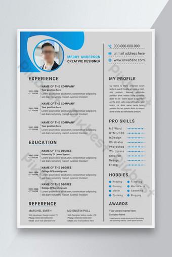Thiết kế mẫu sơ yếu lý lịch CV sạch và chuyên nghiệp cho công việc Bản mẫu AI