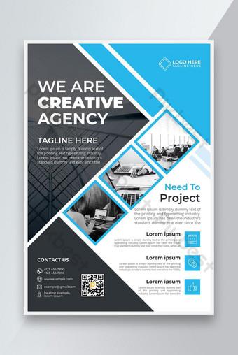 Creative Stylish Agency Flyer Design 2021 Modèle AI