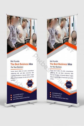 تصميم قالب بطاقة الأعمال الرقمية قالب EPS