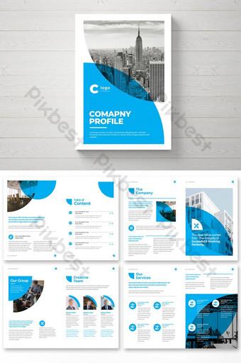 Минимальная творческая брошюра дизайн корпоративной компании профиль бизнес брошюра шаблон шаблон EPS