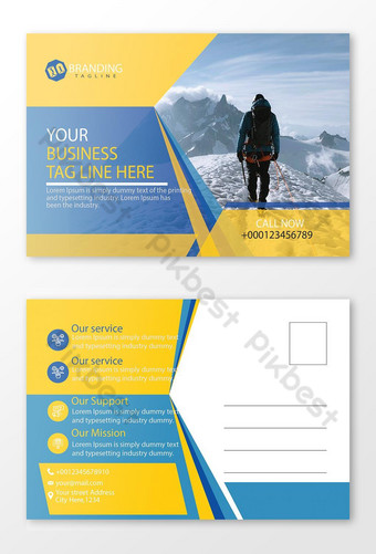 conception de carte postale Modèle AI