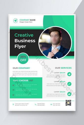 Entreprise Business New Flyer Design Creative Flyer Digital Marketing Agence Nouveau Flyer Modèle AI