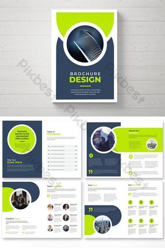 Profil Kreatif Profil Brosur Template Desain Brosur Bisnis Modern Perusahaan Templat EPS