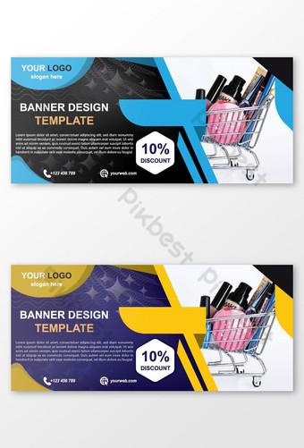 Spanduk Desain Template Desain File Vektor Unduh Untuk AD Templat EPS