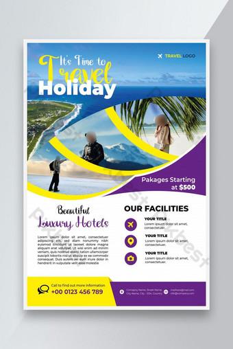 Agence de voyage Flyer Design Tourisme Agence Flyer Design Voyage Flyer Design Business Modèle EPS