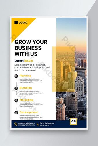 Template Desain Flyer Business Professional Templat AI