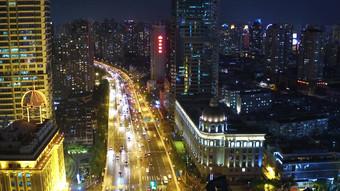 4K التصوير الجوي لمبنى شنغهاي مرتفع فيديو قالب AEP