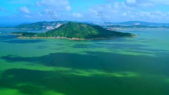 4K ultra malinaw na aerial na video ng tanawin ng isla Video Template AEP