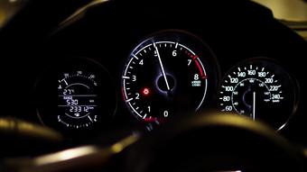 Vitesse d'accélération du tableau de bord de voiture 1080P HD Real Shot Vidéo Modèle AEP