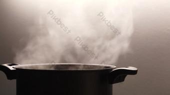 1080P soong nấu ăn hấp và hấp thức ăn HD video Video Bản mẫu AEP