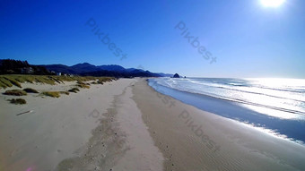 1080p Sunshine Beach Coast HD Real Shot Video Template AEP