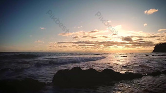 1080p sunset and twilight sunset reef real shot Video Template AEP