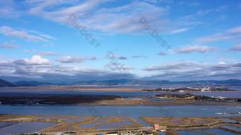 1080 Aerial time-lapse seaside sky Video Template AEP