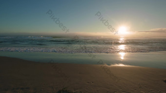 Real shot video of sunset and seaside scenery Video Template AEP
