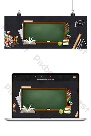 welcome new students in the school season Backgrounds Template PSD