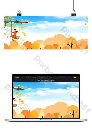 Hello september background picture Backgrounds Template PSD