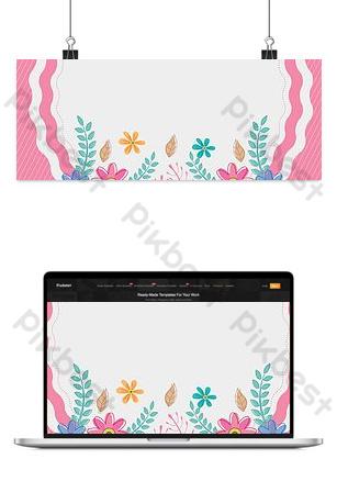 difuso hermosas flores rosa pequeño fresco día de la mujer día de la reina fondo del día de la niña Fondos Modelo PSD