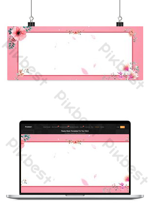 simple y fresco literario solo belleza niña fondo rosa Fondos Modelo PSD
