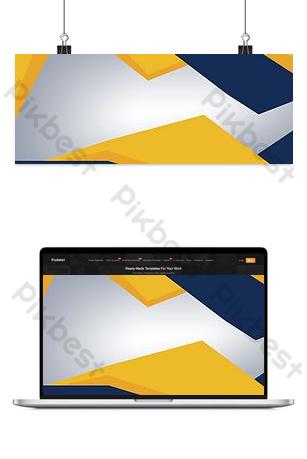Fond de carte de visite couleur contraste géométrique entreprise Fond Modèle PSD