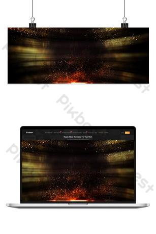 fondo de estilo de efecto de luz de arena dorada Fondos Modelo PSD