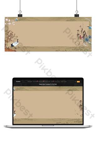 Thiết kế web kiểu cổ xưa Nền Bản mẫu PSD