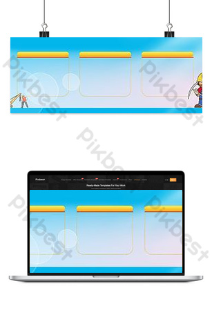 Background of safety production exhibition board Backgrounds Template EPS