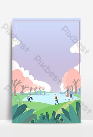 Literary hand painted september hello background poster Backgrounds Template PSD