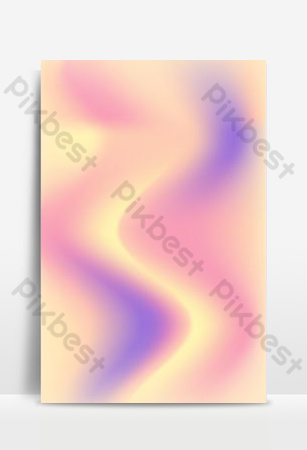 Fluid gradient universal background Backgrounds Template AI