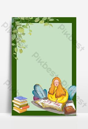 September teachers day september hello background poster download Backgrounds Template PSD