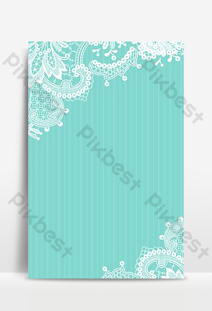 Lace shading senior blue tiffany background poster Backgrounds Template PSD