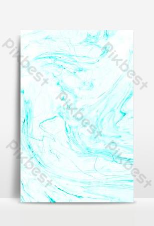 簡約藍色底紋流體大理石紋理背景海報 背景 模板 PSD