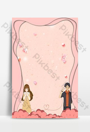Valentine's day secret background image Backgrounds Template PSD