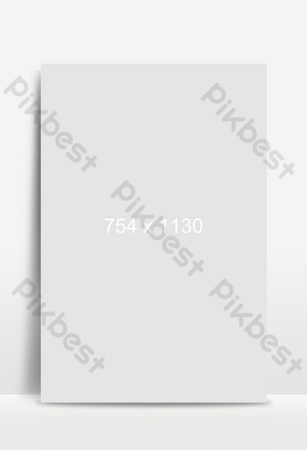 frontera de fondo de flores y plantas de primavera simple Fondos Modelo PSD