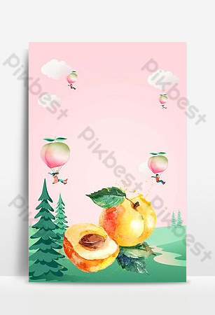 March Fruits and Vegetables March Seasonal Background Backgrounds Template PSD