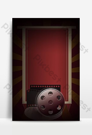 Fondo de publicidad retro de cinta de video. Fondos Modelo PSD