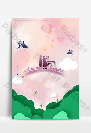 cartel del mapa del fondo del bosque del festival de la estrella del sombreado rosado del estilo simple Fondos Modelo PSD