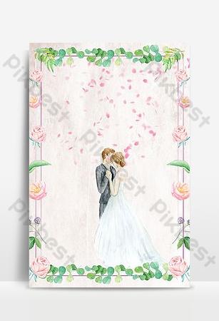 Đơn giản nhỏ tay tươi sơn cánh hoa màu hồng nền tanabata Nền Bản mẫu PSD