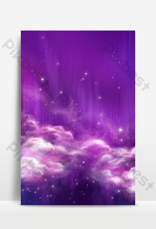 Beautiful and beautiful creative star sea background poster Backgrounds Template PSD