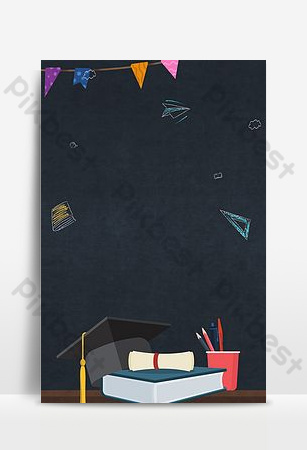 Graduation season youth does not end field background template Backgrounds Template PSD