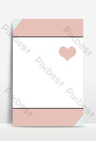 imagen de fondo de la imagen principal en capas psd rosa niña corazón damas Fondos Modelo PSD
